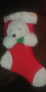 """NEW 17"""" From Top to Toe BEAR STOCKING*AD'S UP, STILL AVAILABLE"""