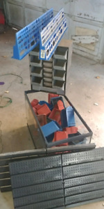 Parts storage and tool holders