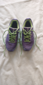 Asics Female size 5 running trainers