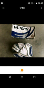 Jr xl full set of goalie equipment