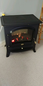 ELECTRIC FIRE PLACE WITH THERMOSTAT!!