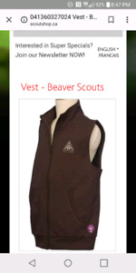 ISO beavers uniform.  Kids size 5 and 6 or small