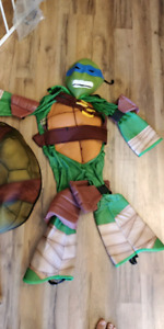 Ninja Turtle Halloween costume for 4-5 year old.