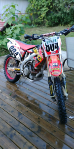 2006 crf 450 R. REBUILT WITH OWNERSHIP