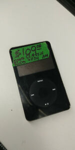 Apple Ipod Classic 30GB w/ Charger - Black
