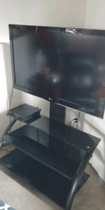 47' LG tv with stand