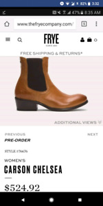 *authentic* Frye boots