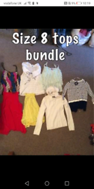 Bundles of ladies clothes sizes 6s 8s and 10s
