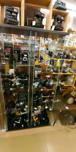 Vintage Cameras, Lenses and Accessorie