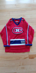 Boys Montreal Canadiens Jersey