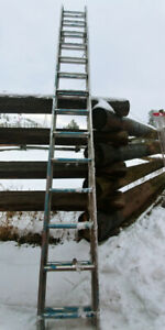 3 LADDERS FOR SALE