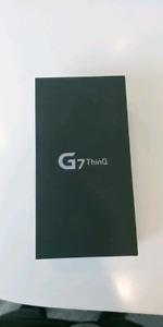 LG G7 noir neuf/scellé