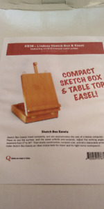 Artist Sketch Box and Easel Kit