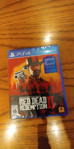 Brand New RD2. Still in Plastic. 85 Firm. Ps4.