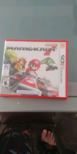 Mario kart 7 for 3ds mint condition