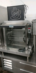 Garland convection ovens, pizza ovens, chicken rotisserie, SALE!