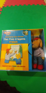 Book and plush toy set