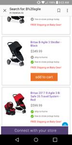 Practically New Britax Stroller