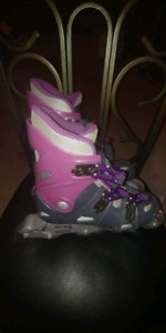 Roller blades by Allure. Size 7 youth. Used once, like new.
