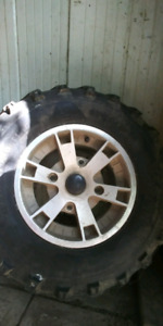 Can Am ATV tires and rims