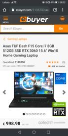 Asus Tuf Dash FX516P