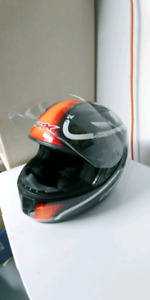 Riot X Full face motorcycle helmet / casque de Moto