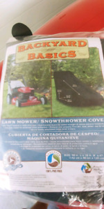 Lawn or snowthrower cover