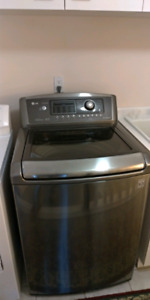 lG top load high efficiency washer