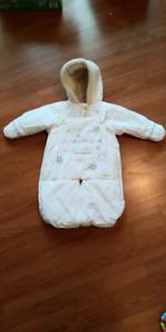 Manteau pochette hiver trois moutons 0-12M