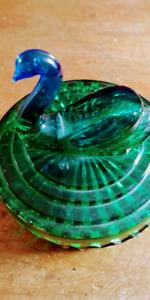 Jeanette Glass Powder Dish