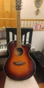 Guitar Yamaha Campass Series CPX 500 OVS/ acoustic/electric