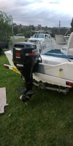 Stacer boat