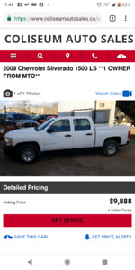 2009 Chevrolet Silverado 1500 LS **1 OWNER FROM MTO**