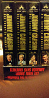 VHS movies - Star Wars, Johnny Carson, Rocky and more