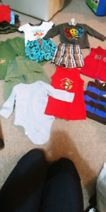 Infant boys clothing lot size 18m