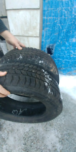 2 Mud/Snow Tires For Sale 205/65/16's 100$