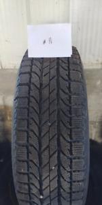 235/65 R17 BF Goodrich Winter Tires & Rims