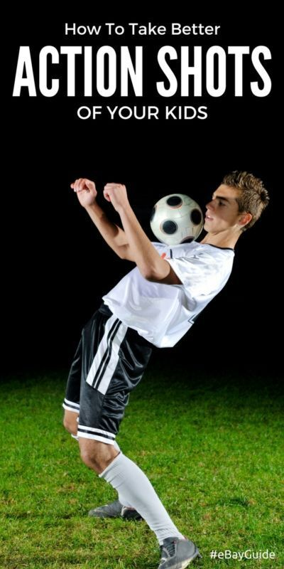 Tips and tools to show you how to take better action shots of your kids. Whether it's sports, dance or just playing