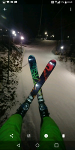 Ski twin tip salomon 176,  fix marker griffon 28.5