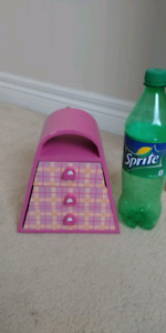 Little girls jewellery box filled woth princess rings