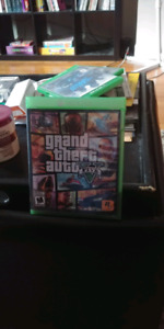 Xbox one grand Theft Auto, tekken7,minecraft, call of duty,need