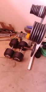 70kg dumbells