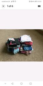 GIRLS LARGE BUNDLE OF CLOTHING AGE 8 MOSTLY NEXT