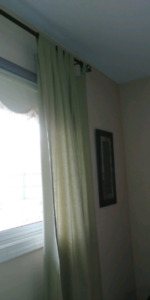 Curtains-2 tab top panels