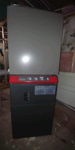 Lennox Stelpro furnace and central air package.