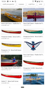 Looking for nova craft canoes