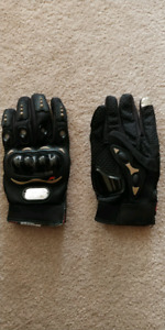 Motorcycle gloves size LG / M