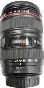 Lentille Canon 24-105