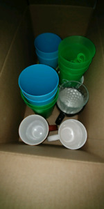 Free box of cups and mugs