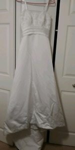 Wedding dress and Reception dress - sold together